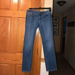 Miss Me sz 27 32 Inseam Straight Leg Denim Jeans